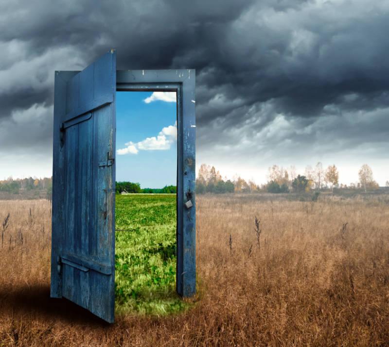 Door to Green Tree Living